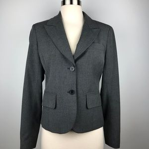 Michael Kors Gray Blazer Jacket Size 4